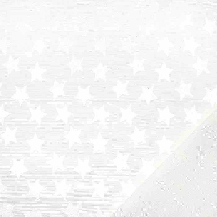 Damast, Sterne, 21472-051, creme