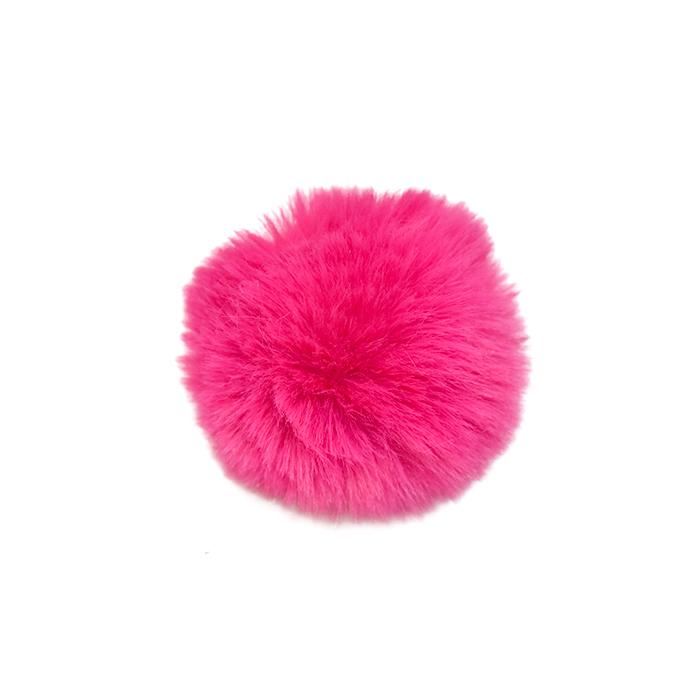 Cof, umetno krzno, 6cm, 18890-007, roza