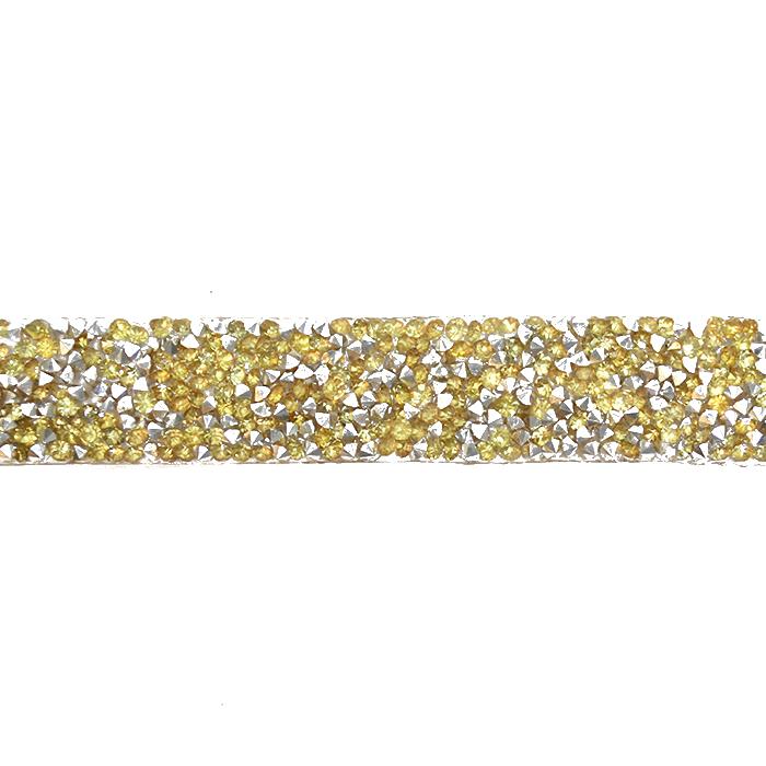 Trak, kristali, 20mm, 18044-024, zlata