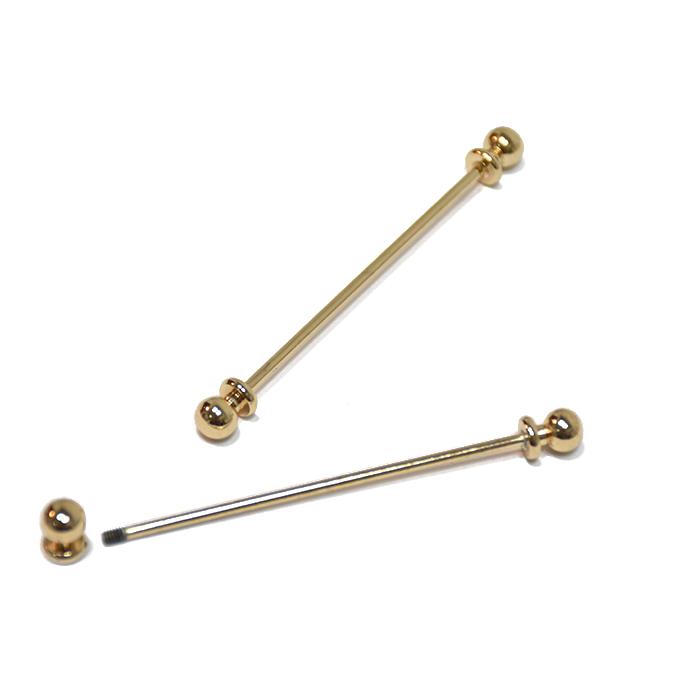 Zaponka, vezna, 60mm, 21528-100, zlata