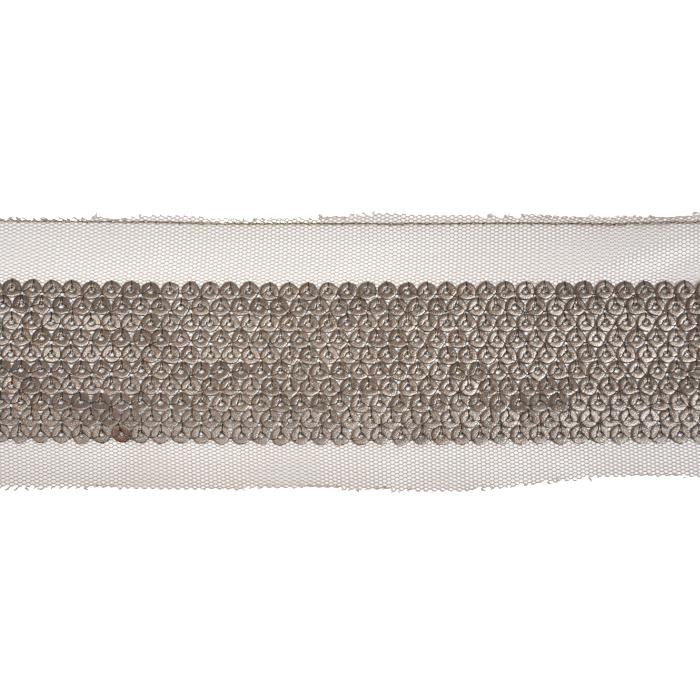 Band, dekorativ, Kunstleder, 21535-108, bronze