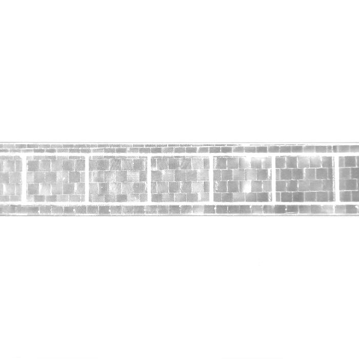 Odsevni trak, 25mm, 21544-001, srebrna