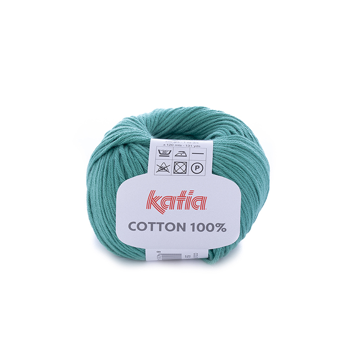 Preja, Cotton 100%, 14733-59, turkizna