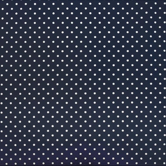 Jersey, bombaž, pikice, 21554-008, temno modra