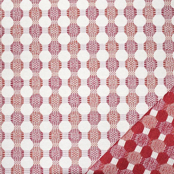Dekostoff, Samt, beidseitig, 21571-306, rot