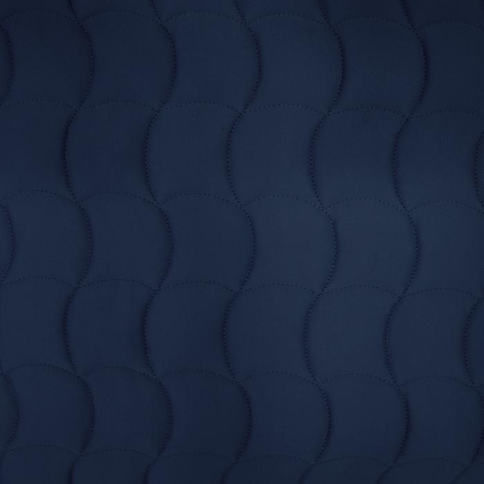 Prošiven materijal, geometrijski, 21578-705, tamnoplava