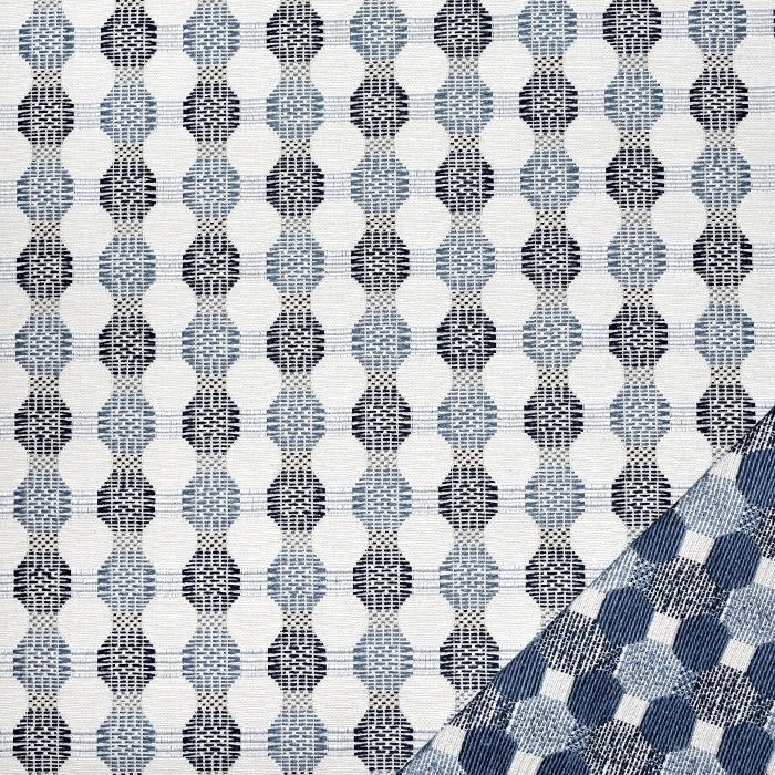 Deko žakard, obostrani, 21571-705, plava