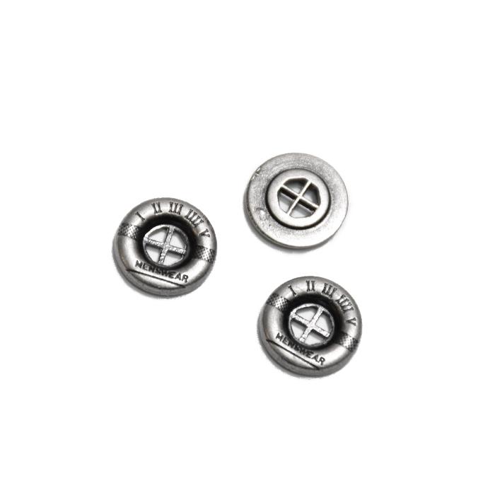 Gumb, kovinski, 13mm, 21584-103, srebrna