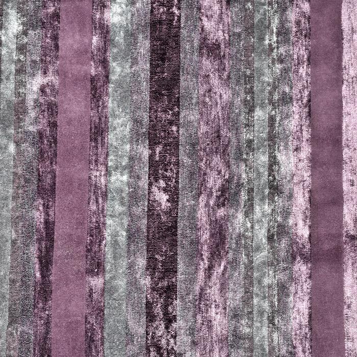 Dekostoff, Samt, Stripes, 21586-002, violett