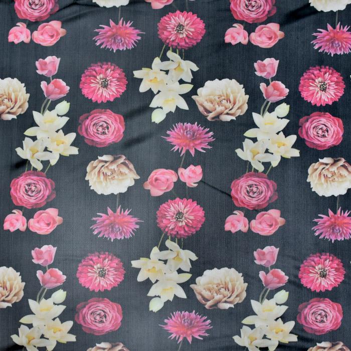 Mreža elastična, poliester, cvetlični, 21591-069