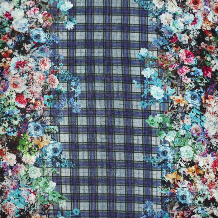 Pletivo tanjše, cvetlični, 21633-6, modra