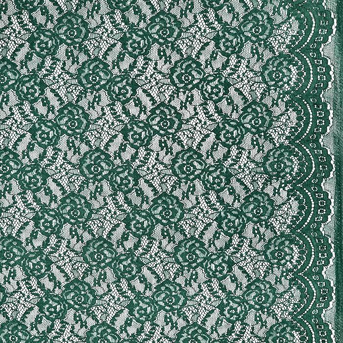 Čipka, elastična, 21657-028, zelena