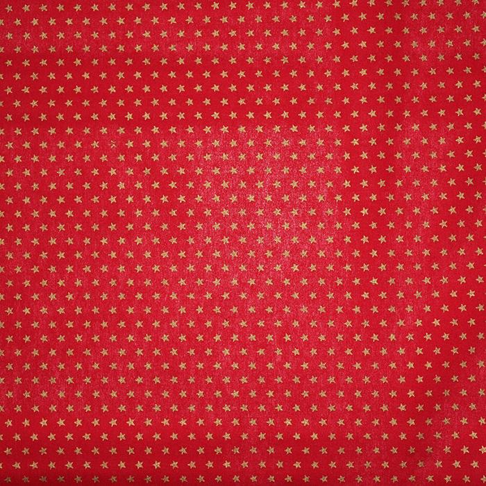 Bombaž, poplin, praznični, 21681-015, rdeča