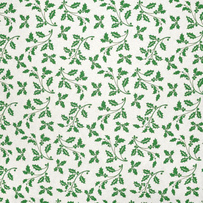 Deko, tisk, praznični, 21722-3, zelena