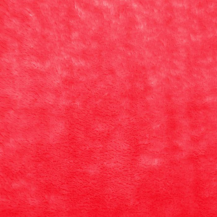 Velur coral, obojestranski, 21769-015, rdeča