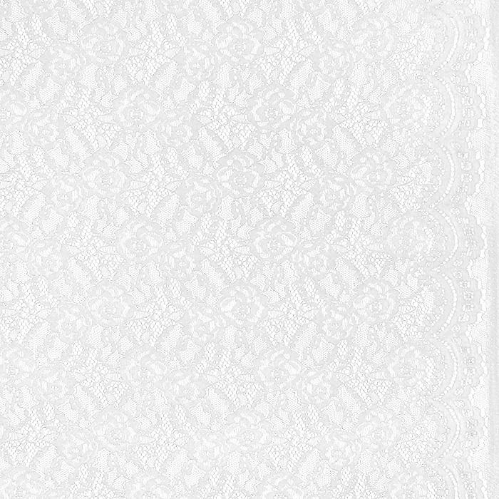 Čipka, elastična, 21657-051, smetana