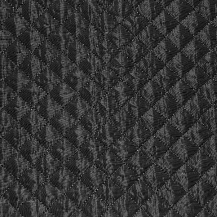 Prošiven materijal, karo, 21665-069, crna