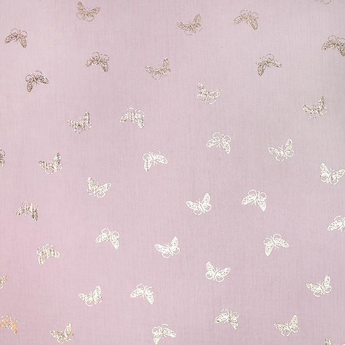 Tetra tkanina, dvojna, otroški, 21860-012, roza
