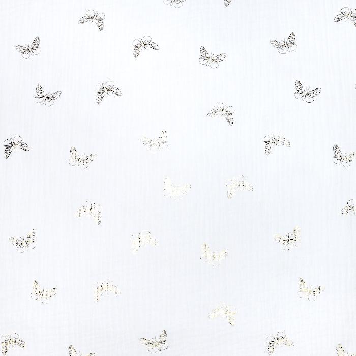 Tetra tkanina, dvojna, otroški, 21860-050, bela