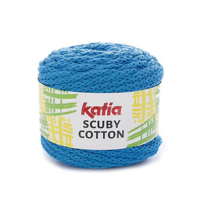 Garn, Scuby Cotton, 21553-110, türkis