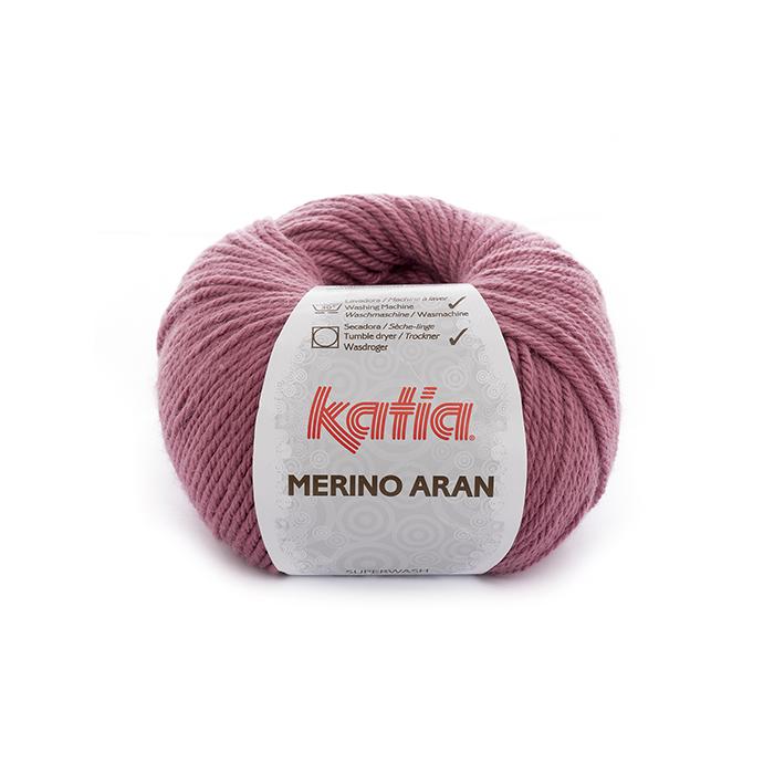 Preja, Merino Aran, 21924-54, roza