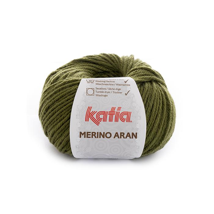 Preja, Merino Aran, 21924-70, zelena
