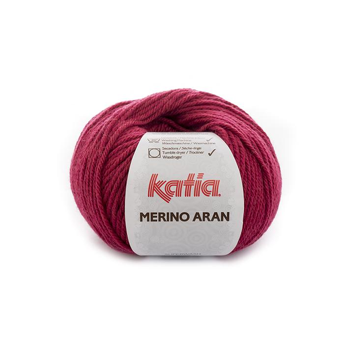Preja, Merino Aran, 21924-71, roza