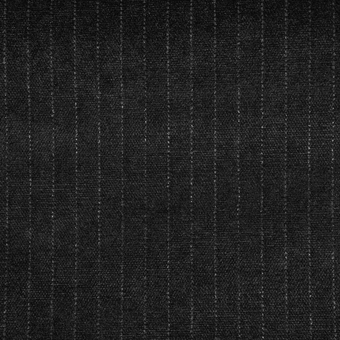Deko žamet, črte, 21945-12, črna