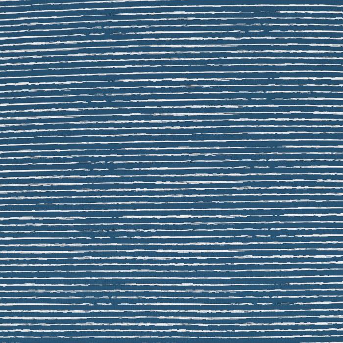 Jersey, bombaž, črte, 21761-303, modra