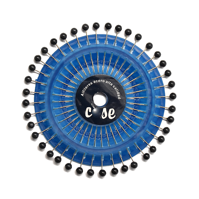 Bucike z biserno glavo, 34mm, 40kom, 18923-3802, črna