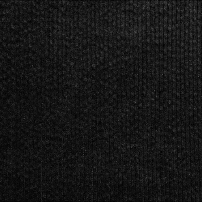 Žamet, bombaž, 21984-999, črna