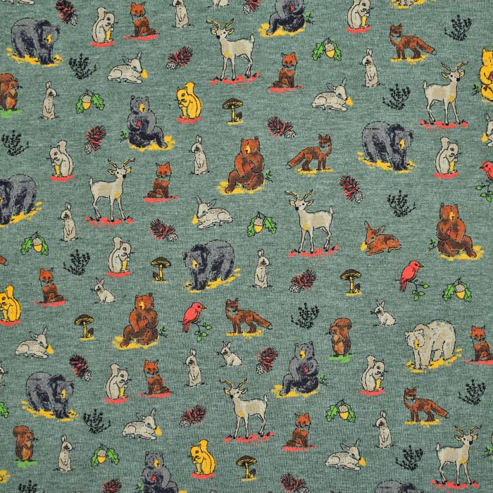 Jersey, živalski, 21736-005, zelena