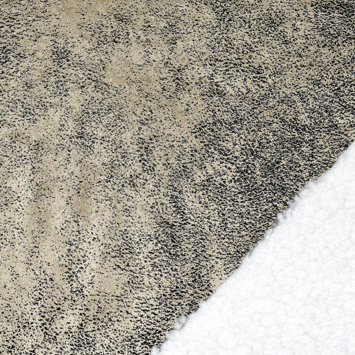 Umetno krzno, obojestranski, 22014, rjavo-bela