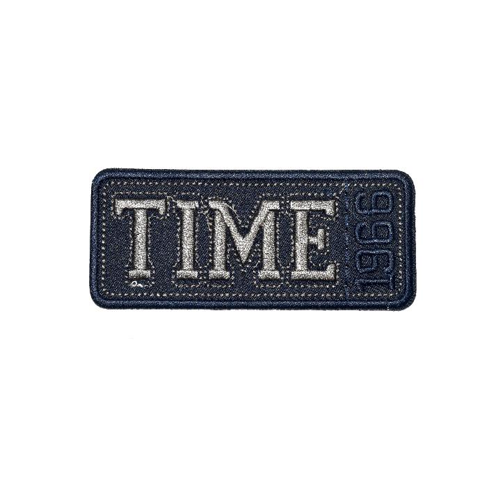 Našitek, Time, 19274-006, modra