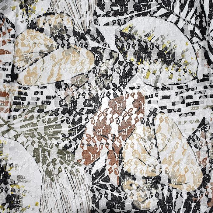 Čipka, prožna, cvetlični, 21776-80