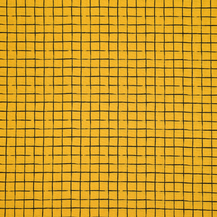 Bombaž, poplin, karo, 22095-08, rumena