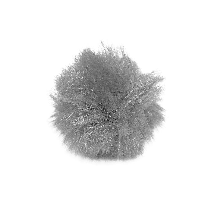 Cof, umetno krzno, 5 cm, 22106-034, siva