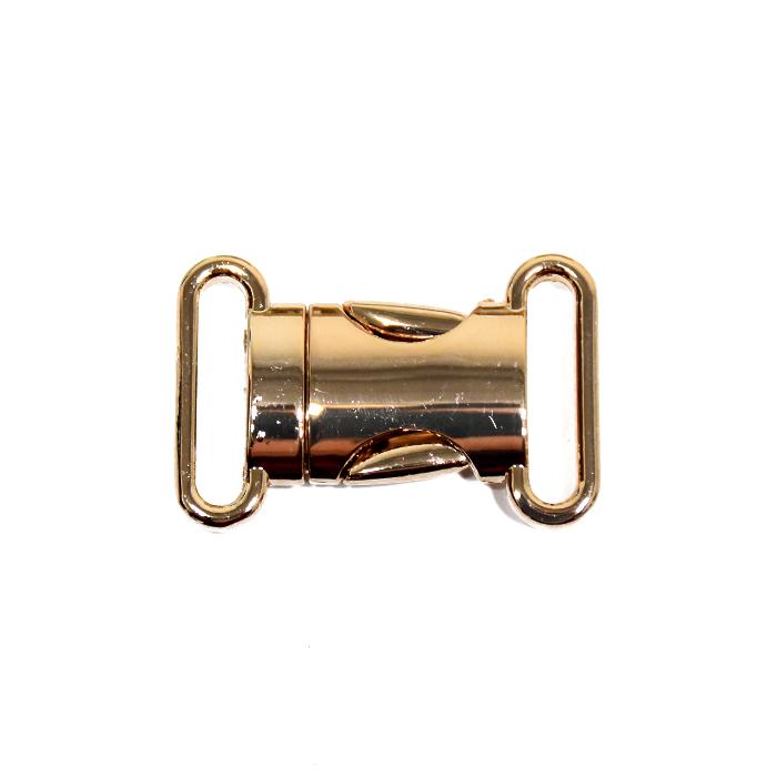 Kopča, metalna, 25 mm, 22174-100, zlatna