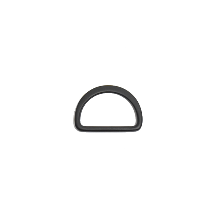 Poluobruč, metalni, 15 mm, 22203-130, mat crna