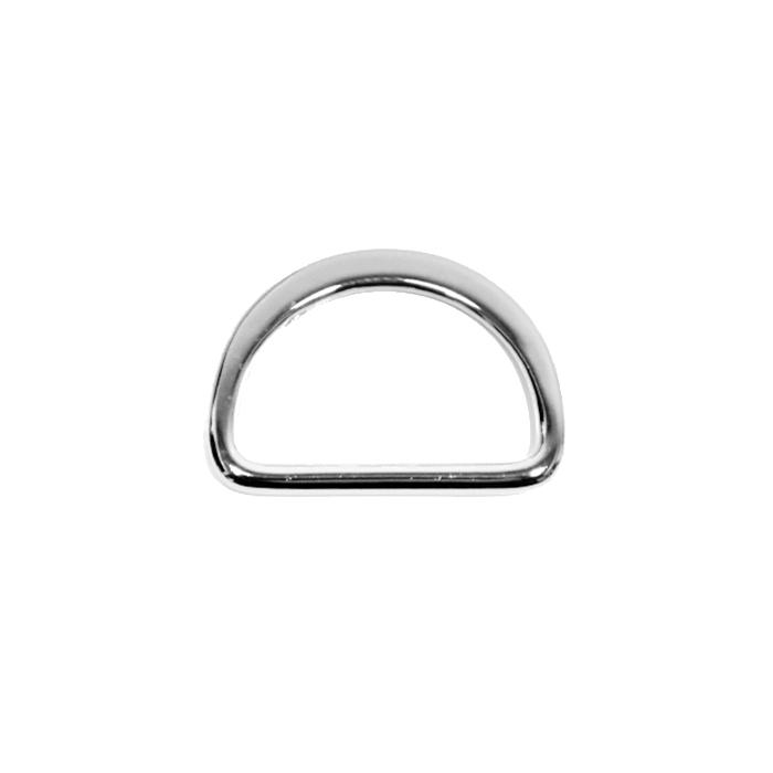 Polobroč, kovinski, 35 mm, 22205-101, srebrna