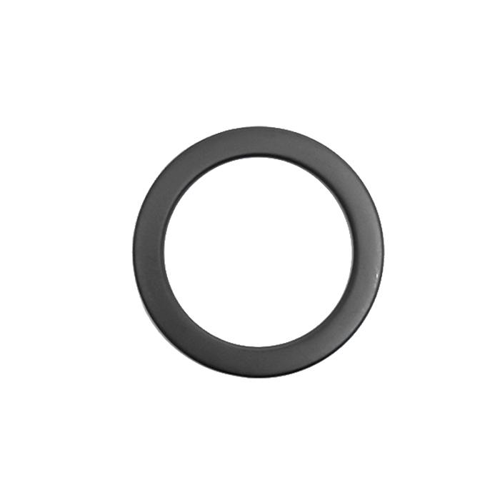 Obroč, kovinski, 50 mm, 22207-130, mat črna