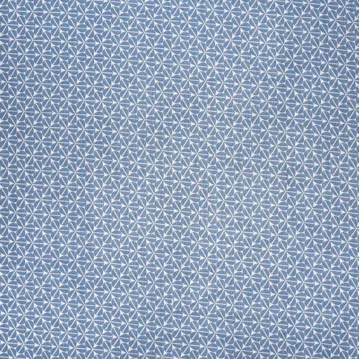 Bombaž, poplin, cvetlični, 22228-4, modra