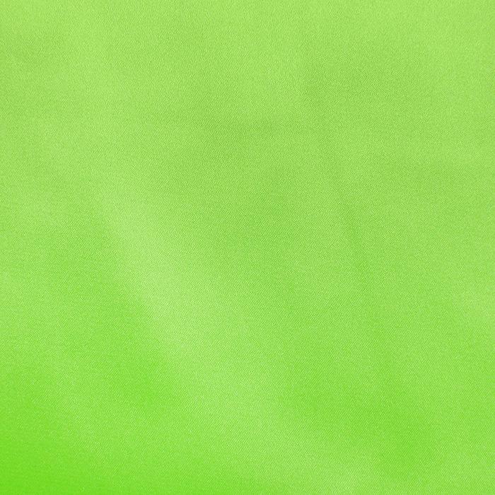 Saten, poliester, 3093-520, zelena