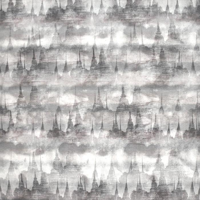 Jersey, viskoza, abstraktni, 21776-91, siva