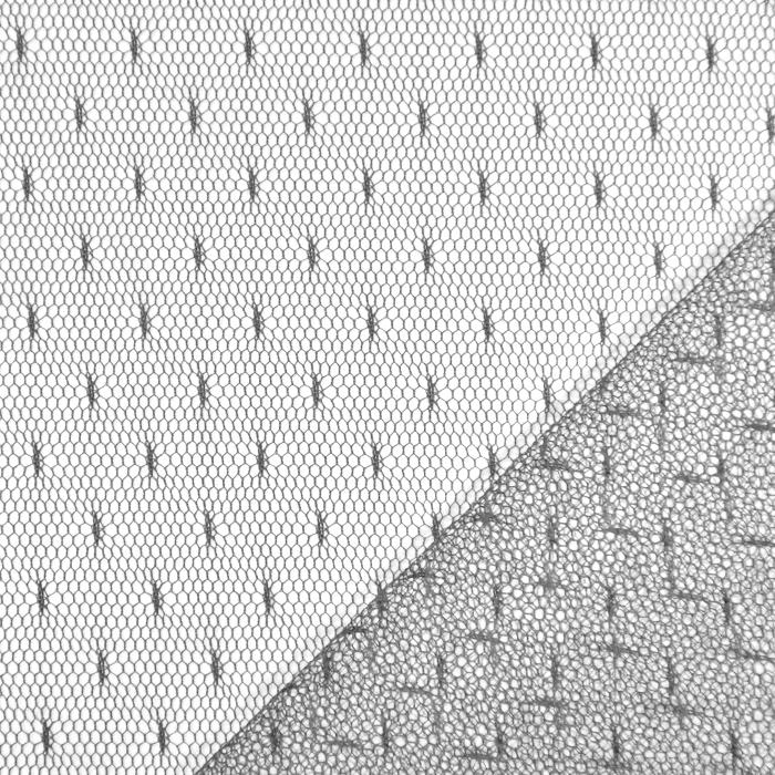 Mreža, elastična, točke, 19002-35, siva