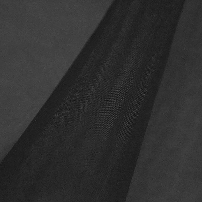 Organza, poliester, 22281-6514, črna