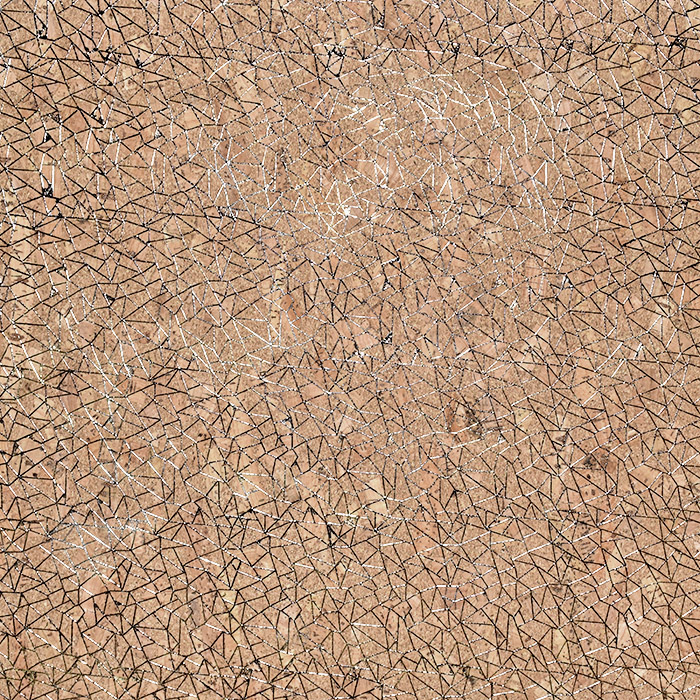 Pluta, podložena, 22518-0801, rjava