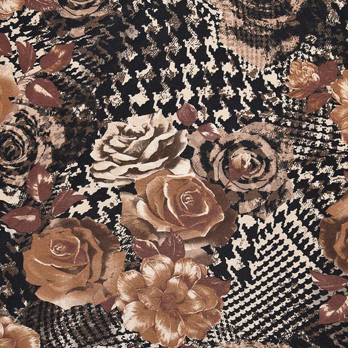 Jersey, viskoza, cvetlični, 22686-124