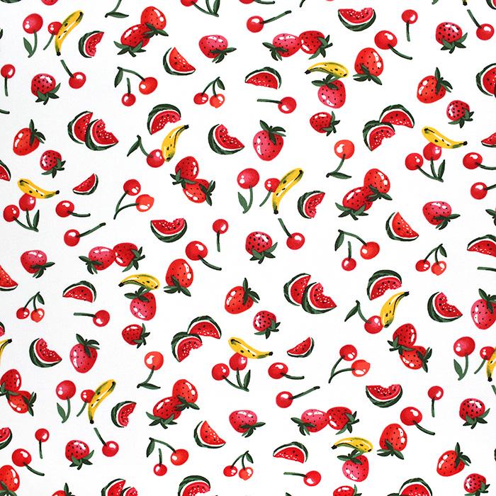 Tkanina, viskoza, sadje, 22750-051
