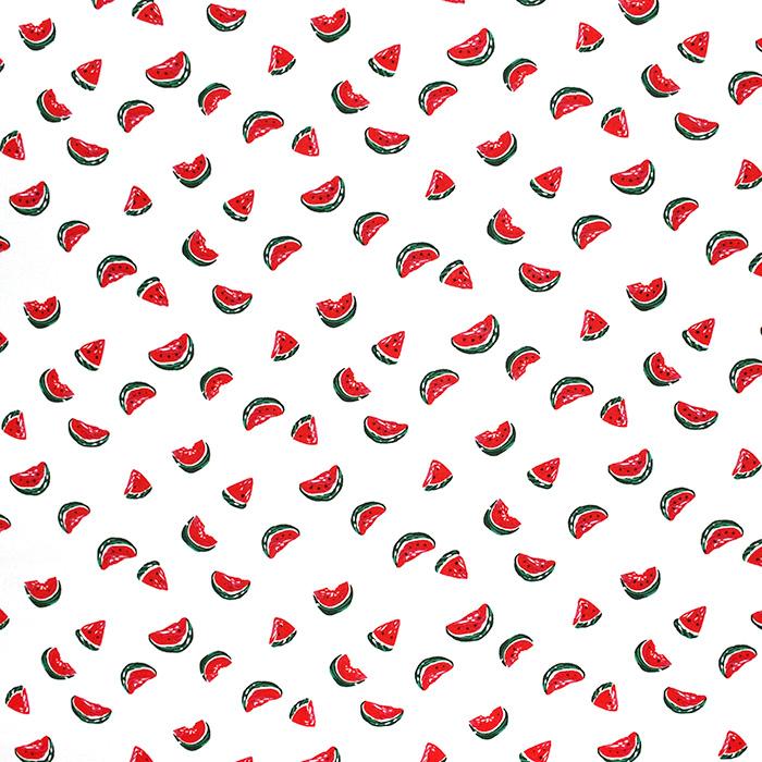 Tkanina, viskoza, sadje, 22751-051, bela